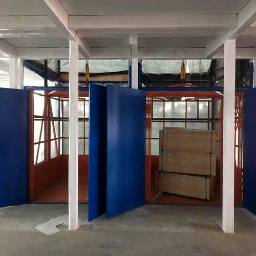 Подъемник для крупного склада